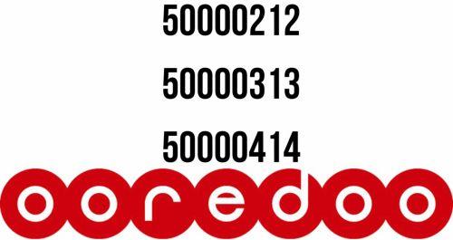 أرقام أوريدو مميزة جدًّا