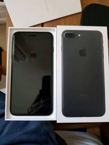 iPhone 7plus 128GB Matt Black