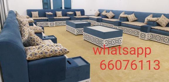 we make new sofa and curtains