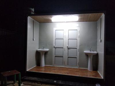 الکبینه ساٸق للبیع مع الحمام