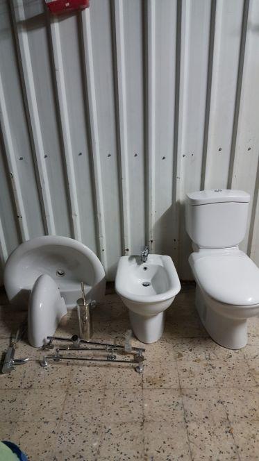 طقم حمام جديد
