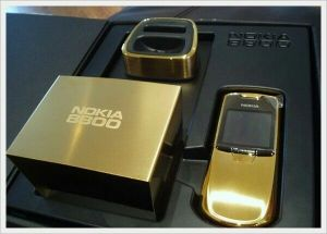 Nokia 8800 gold color