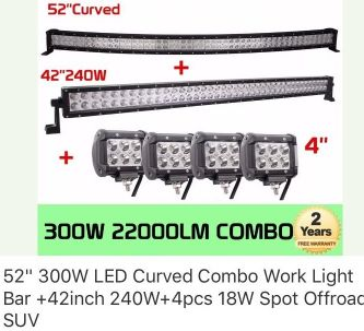 New American led bars