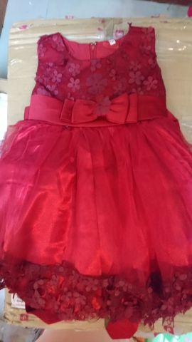 فستان جديد للبنات الصغار يصلح لليوم الوط