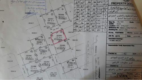 البيع ارض بأبو ظلوف