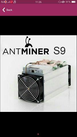 Antminer S9 ASIC Bitcoin Mi