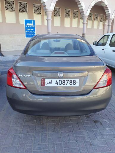 2cars for sale للبیع نسان سنی مودیل 2014