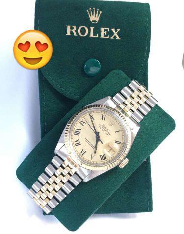 ساعة رولكس اصلية مع ذهب