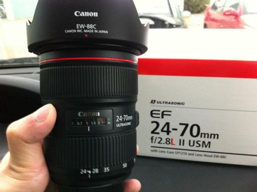 Canon 24-70 f2.8 ll Like New