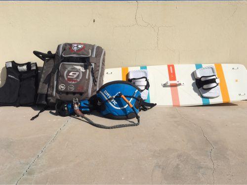 Full Kitesurfing set