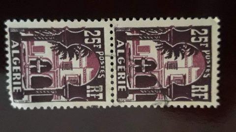 طوابع بريدية قديمة من الجزائر
