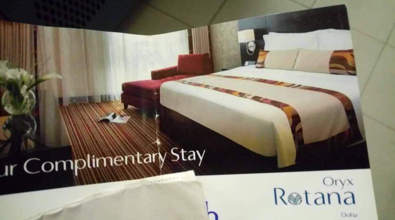 voucher full night in hotel oryx rotana