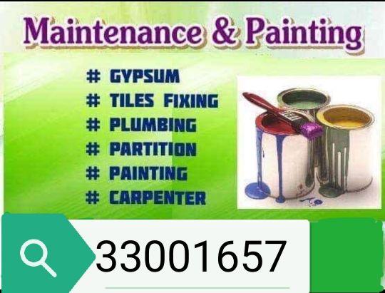 maintance work painting