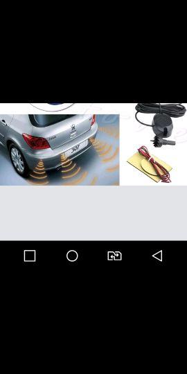 4 حساس ابيض ريوس لجميع السيارات جديد