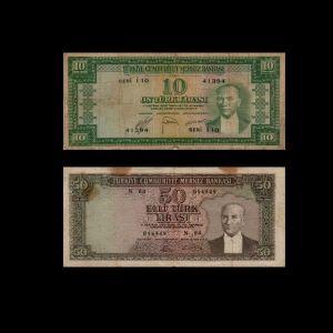 Turkey 1951 sultans