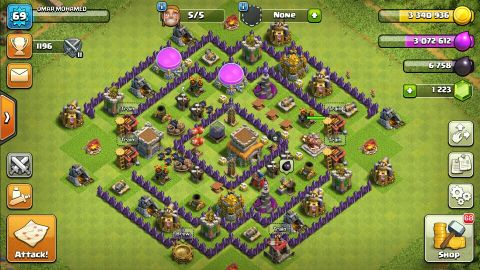 Clash Of Clans TH 8