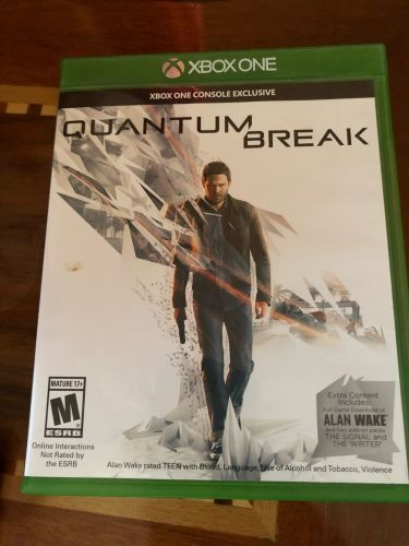 Quantum break + Alan wake xbox