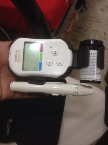 Blood sugar tasted machine