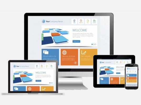 تصميم مواقع الكترونيه