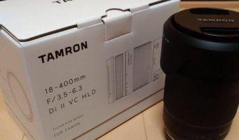 Tamron 18-400 f 3.5 canon mount