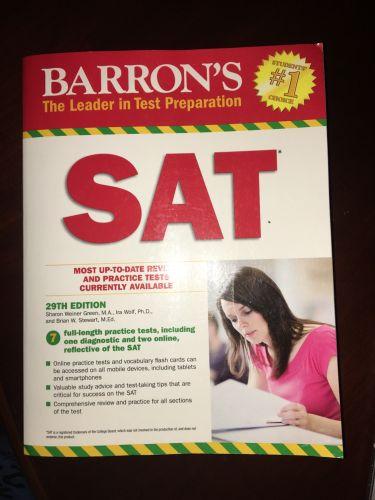 كتاب SAT 29th edition