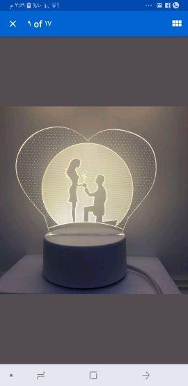 جهاز اضاءة ثري دي