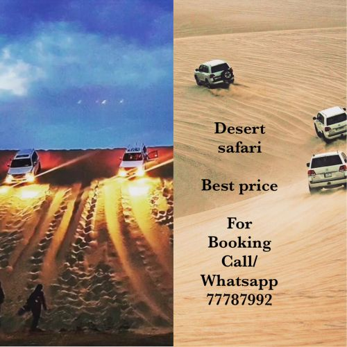 Desert Safari Trip Booking