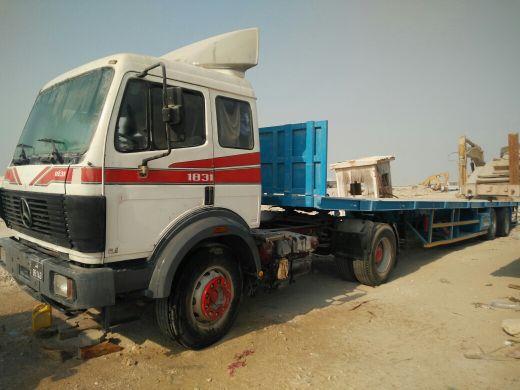 Flatbed trailer sale