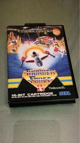 Thunder Force iv mega drive (PAL)