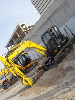 Mine excavator 5.ton hyundai