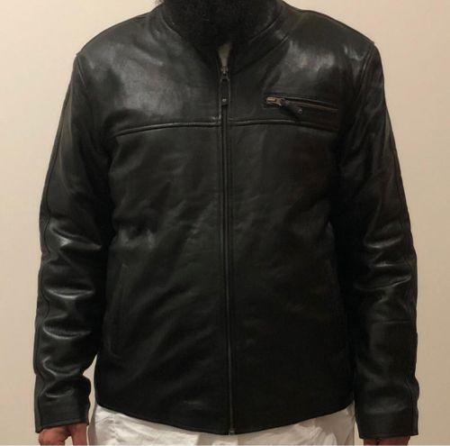معطف جديد جلد ناعم جودة عالية