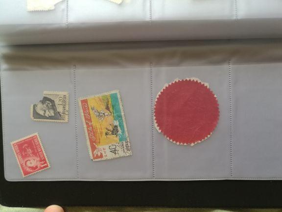 البوم طوابع قديمة