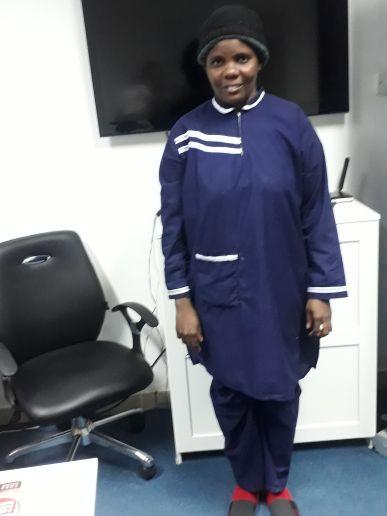ممرضة كينية