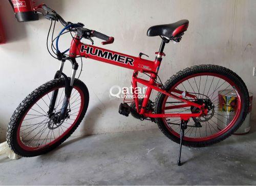 Red Hummer bike
