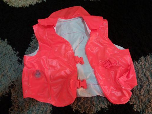 kids inflatable swim suit