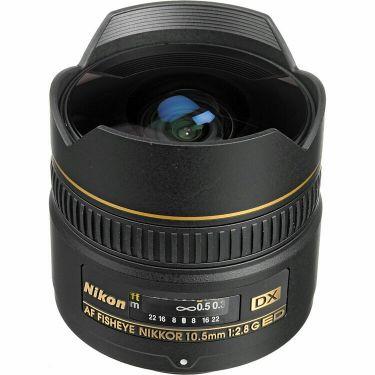 Nikon 10.5mm fisheye lens