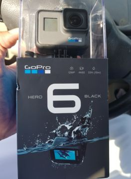 كاميرا قوبرو هيرو 6 اللون اسود جديدة