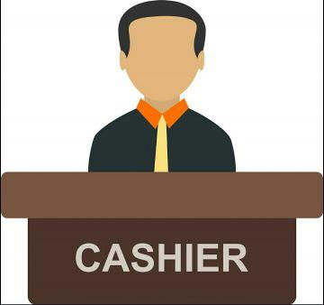 I need a Cashier or Receptionist job