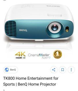 BenQ Projector 4K HDR