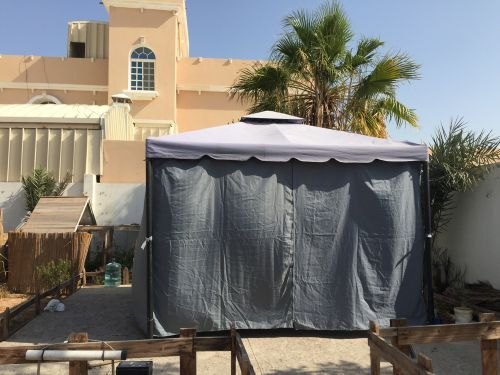 خيمة غازيبو مع غطاء كامل