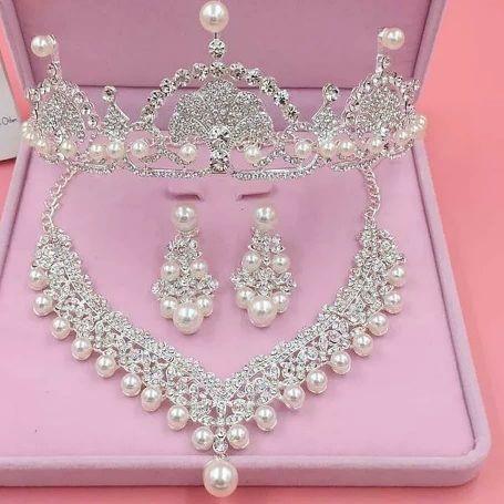 Bridal crown set 1