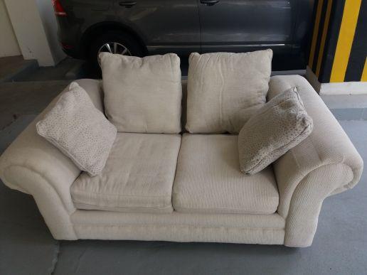 USA designer Sofa white foam cushions
