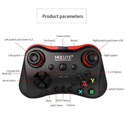 Gamepad Tvbox IPhone Pc Bluetooth Rechar