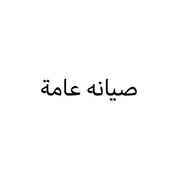 صيانه عامه وبناء مجالس