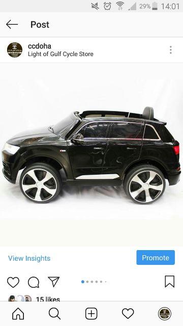 NEW AUDI Q7 CAR