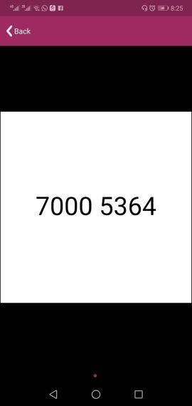Vodafone fancy number number sale 700053