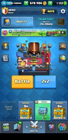 clash of royal