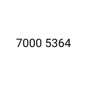 Vodafone special vip number 7000 5364