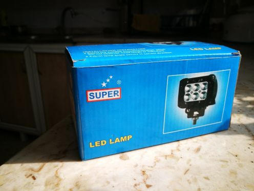"led light 3"" inch new not used"