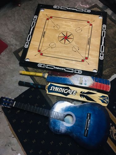 Sports and guitar